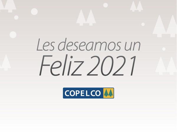 COPELCO les desea un feliz 2021